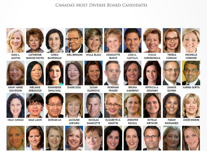 Diversity 50 appointments