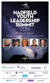2016 Hadfield Youth Leadership Summit – Special Event