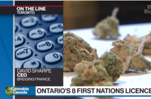 David Sharpe joined BNN Bloomberg to discuss the new licenses for cannabis retail granted to First Nations communities
